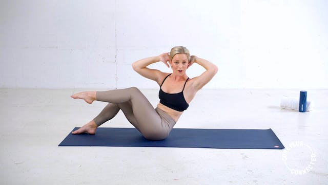 Intermediate Pilates Matwork with Maddi