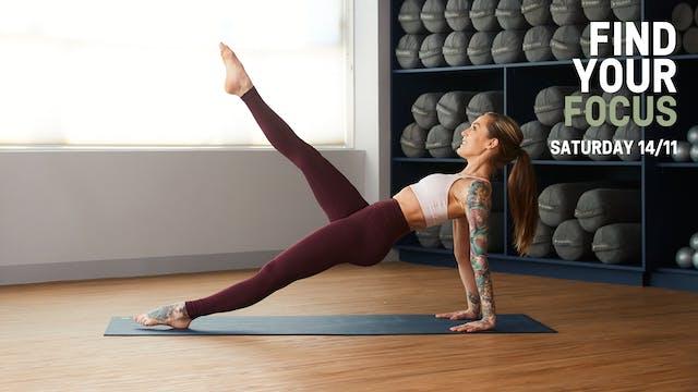 Hot Mat Pilates Full Body with Jayne