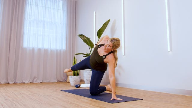 Sculpt: Glutes and Obliques with Hannah