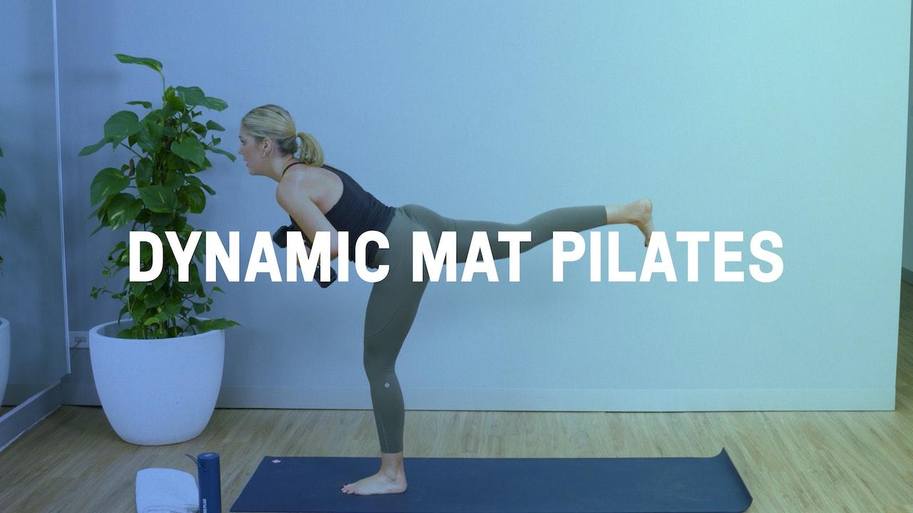 Dynamic Mat Pilates Classes