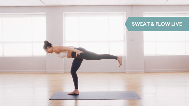 LIVE STREAM - Sweat & Flow with Sarah