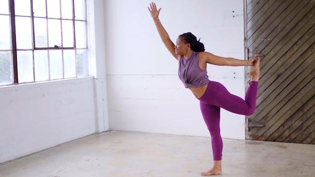 Break It Down: Dancer's Pose