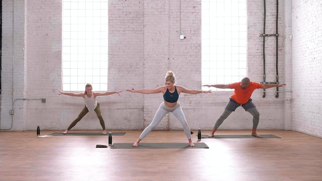 YSB Train Your Core with Courtney C