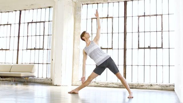 Break It Down: Triangle Pose
