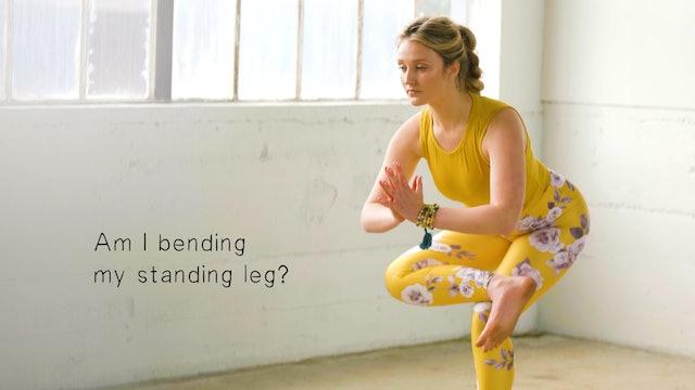 Break It Down: Standing Figure Four