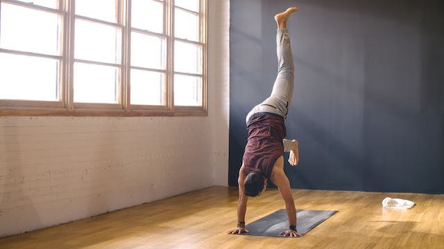 Align For Handstand with Anthony C