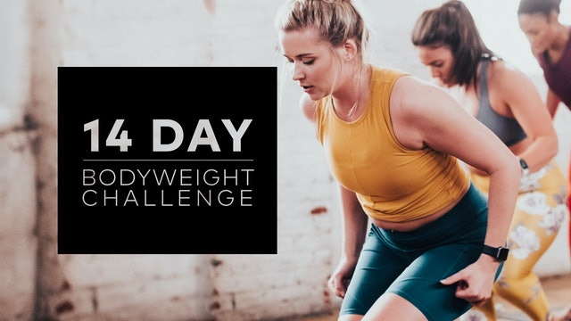 14 Day Bodyweight Challenge