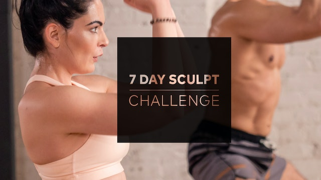 7 Day Sculpt Challenge