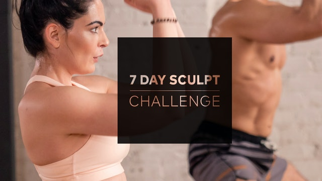 7 Day Sculpt Challenge