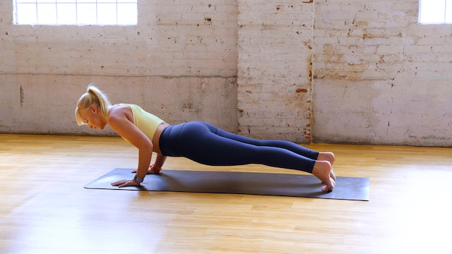 Crosstrain Your Chaturanga with Kathryn S