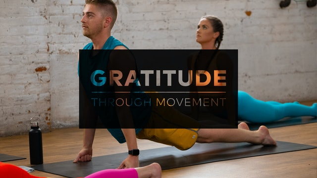 Gratitude Through Movement