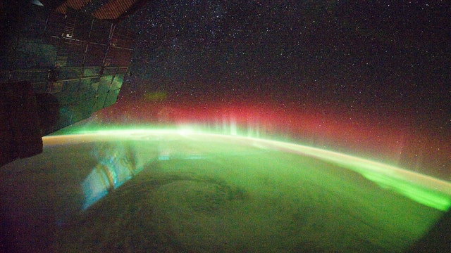 What an Astronaut's Camera Sees at Night
