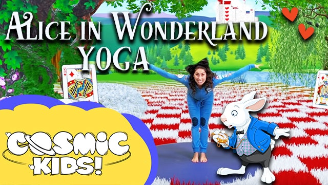Saturday Morning Yoga | Alice in Wonderland