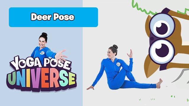 Deer Pose | Yoga Pose Universe