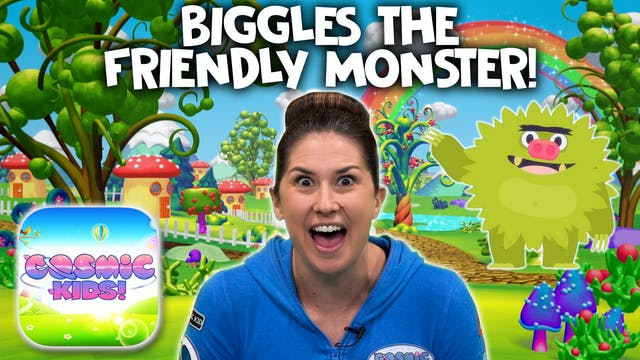 Biggles The Friendly Monster | A Cosm...