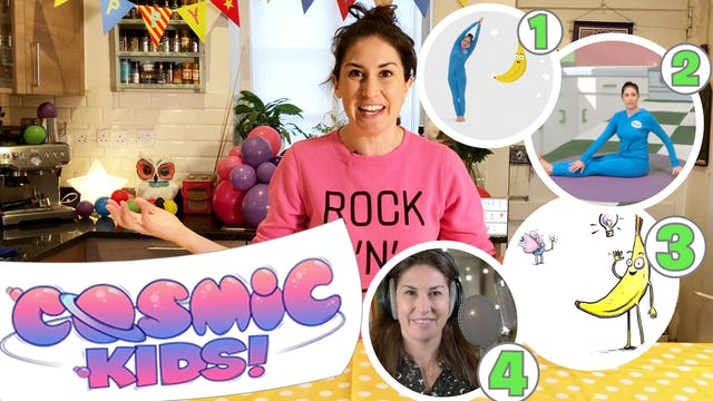 Jaime's Yoga Mix | Friendship and bananas!