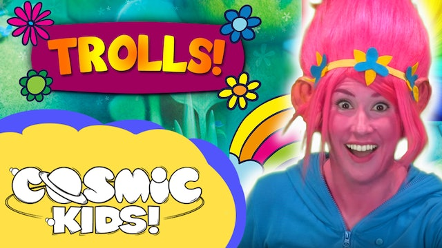 Saturday Morning Yoga | Trolls! 🌈✨🌸👯
