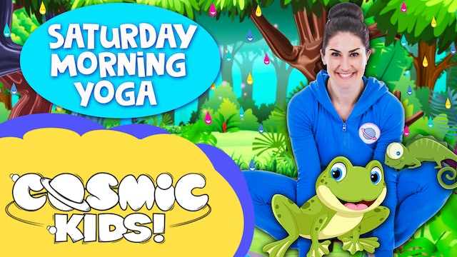Saturday Morning Yoga!! | 🐸Frogs, reptiles and rainforests!