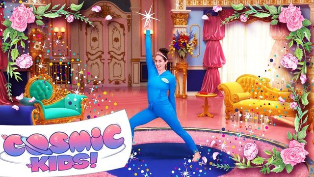 Sleeping Beauty | A Cosmic Kids Yoga Adventure 🌹😴 💖