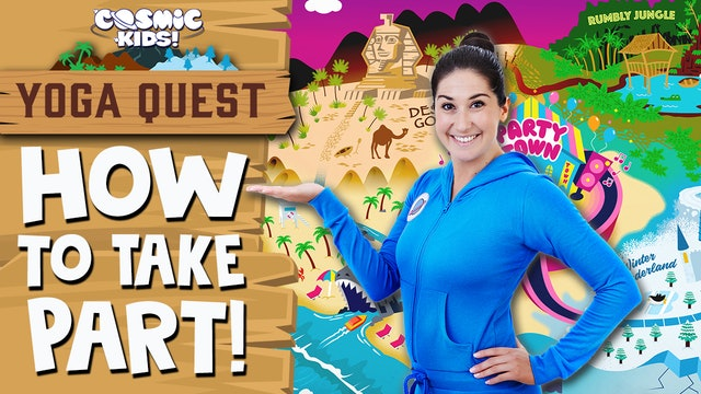 YOGA QUEST | How To Take Part! 👋