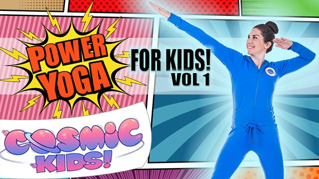 Power Yoga for Kids! 👊👊👊 Volume 1! (4...