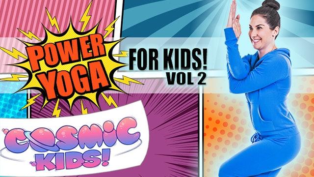 Power Yoga for Kids! 👊👊👊 Volume  2! (15 mins)