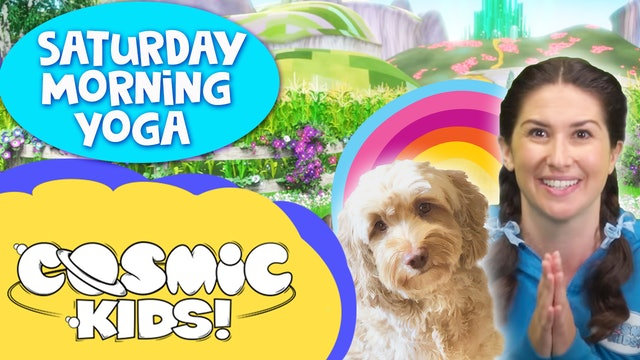 Saturday Morning Yoga | The Wizard of Oz (and puppies!)