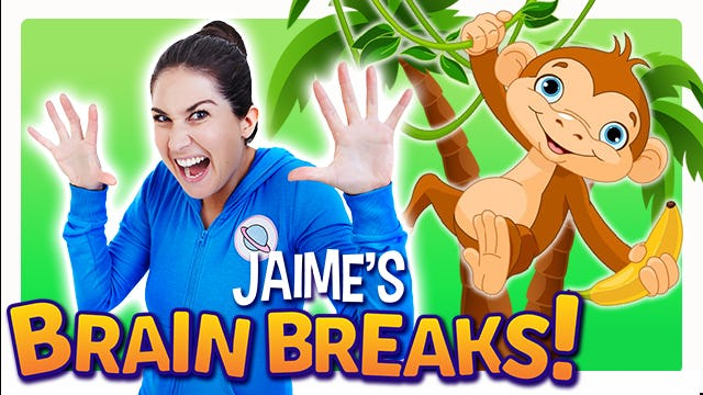 Jaime's Brain Breaks | 3. Walking through the Jungle