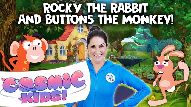Rocky the Rabbit (app exclusive) | A Cosmic Kids Yoga Adventure!