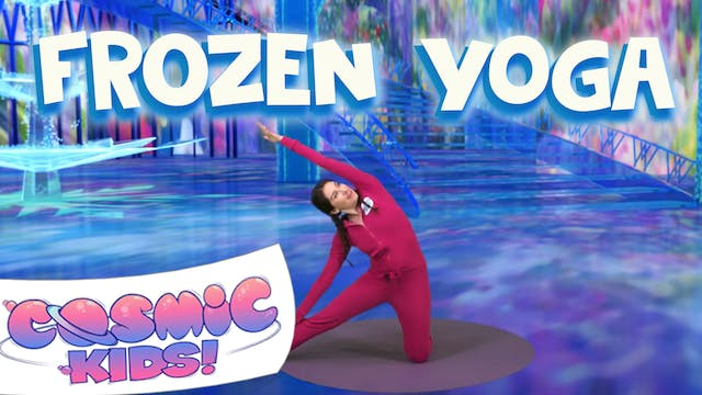 Frozen | A Cosmic Kids Yoga Adventure!
