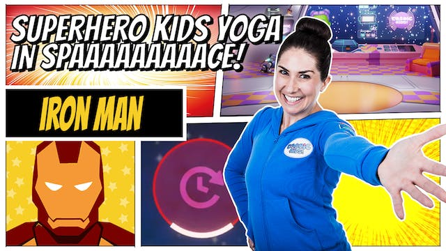 Iron Man | Superhero Kids Yoga in Spa...