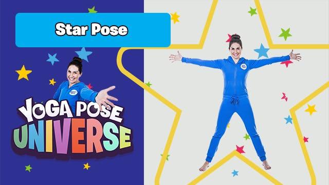 Star Pose | The Cosmic Kids Yoga Pose Universe!
