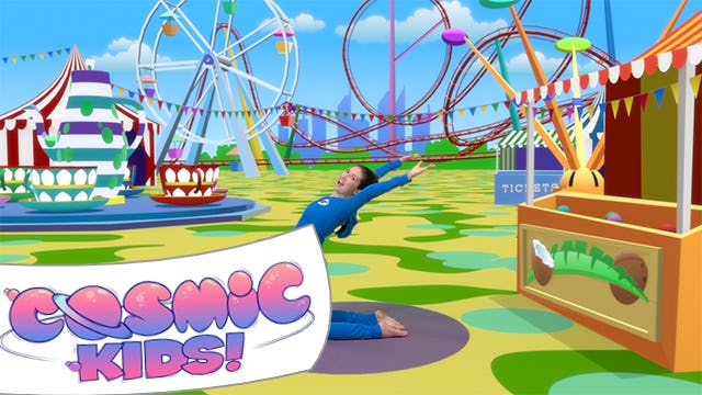 Pedro the Penguin Goes to the Fun Fair | A Cosmic Kids Yoga Adventure!