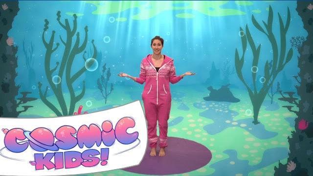 Squish the Fish   A Cosmic Kids yoga adventure!