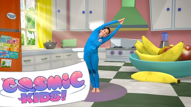 Betsy The Banana | A Cosmic Kids Yoga...
