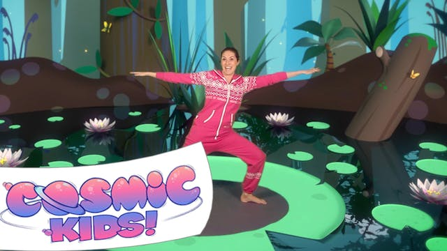 Frank the Frog | A Cosmic Kids Yoga A...