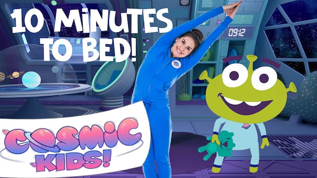 Bop The Alien | A Cosmic Kids Yoga Ad...