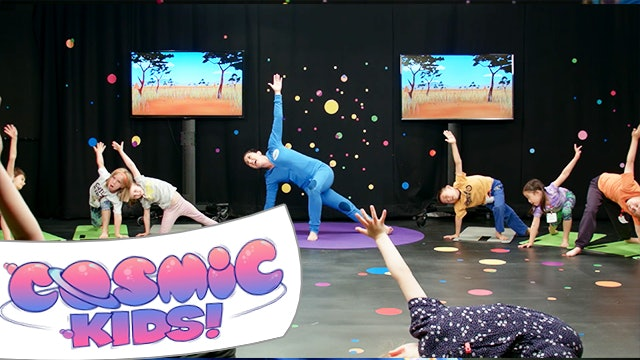 Cosmic Kids Live! | A Cosmic Kids Yoga Adventure! (Lulu the Lion Cub)