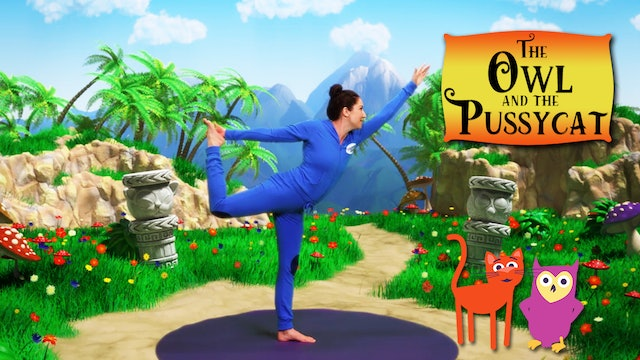 The Owl and the Pussycat (app exclusive) | A Cosmic Kids Yoga Adventure!
