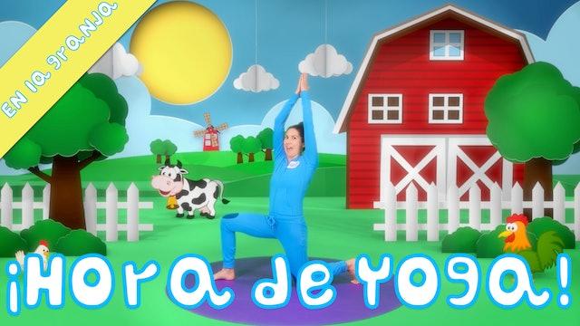 ¡Hora de yoga! | En la granja - Yoga para niños y canciones infantiles