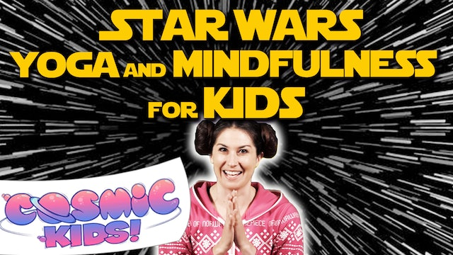Star Wars Yoga and Mindfulness for Kids 🌟🤖