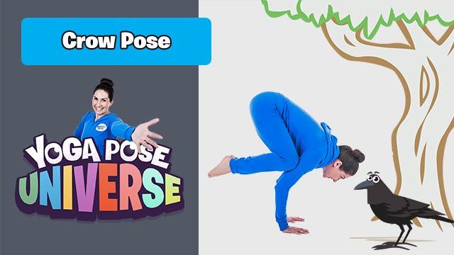 Crow Pose | Yoga Pose Universe