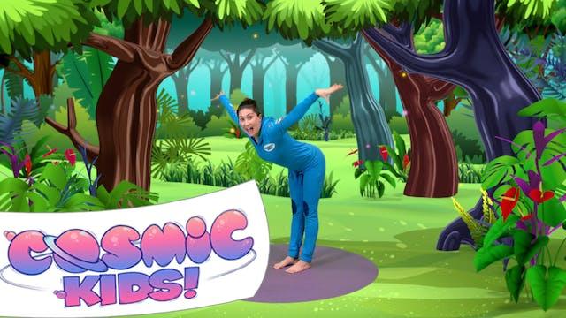 Stezzi The Parrot | A Cosmic Kids Yog...