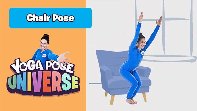 Chair Pose | Yoga Pose Universe