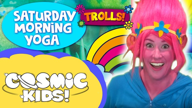 Saturday Morning Yoga | Trolls and friends!