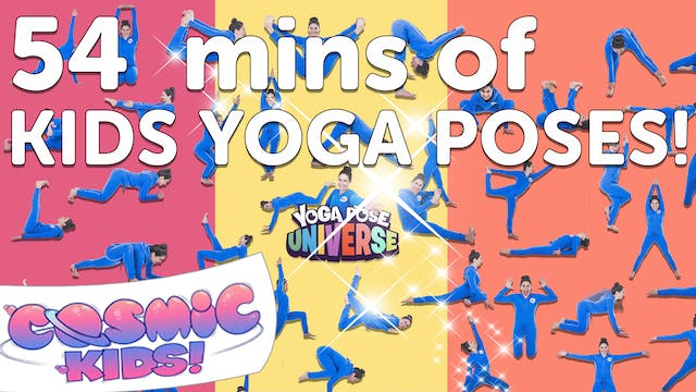 54 mins of kids yoga poses!