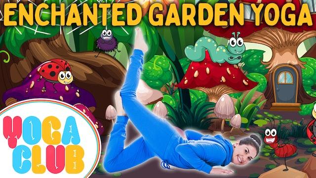 YOGA CLUB! (Week 59) Enchanted Garden! 🦋