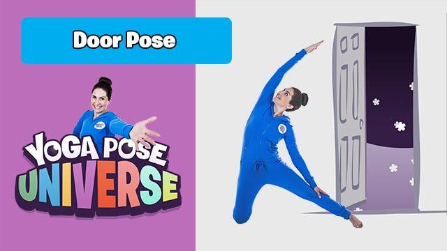 Door Pose | Yoga Pose Universe