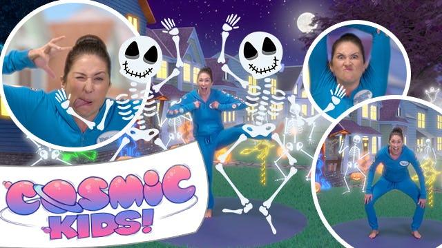 Skeleton Dance Halloween Mega Mix