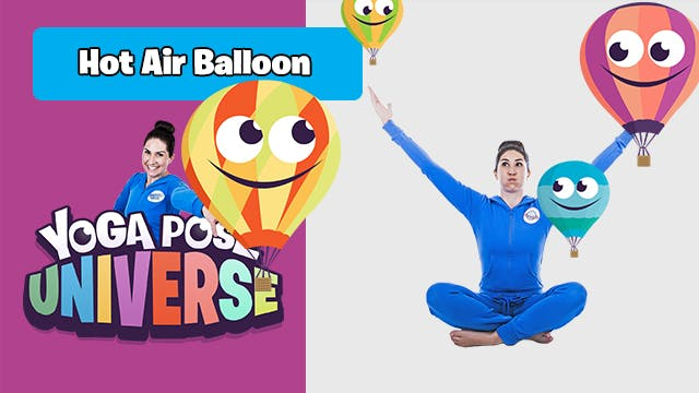Hot Air Balloon Pose | Yoga Pose Univ...